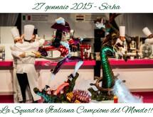 squadra italiana campione del mondo di pasticceria