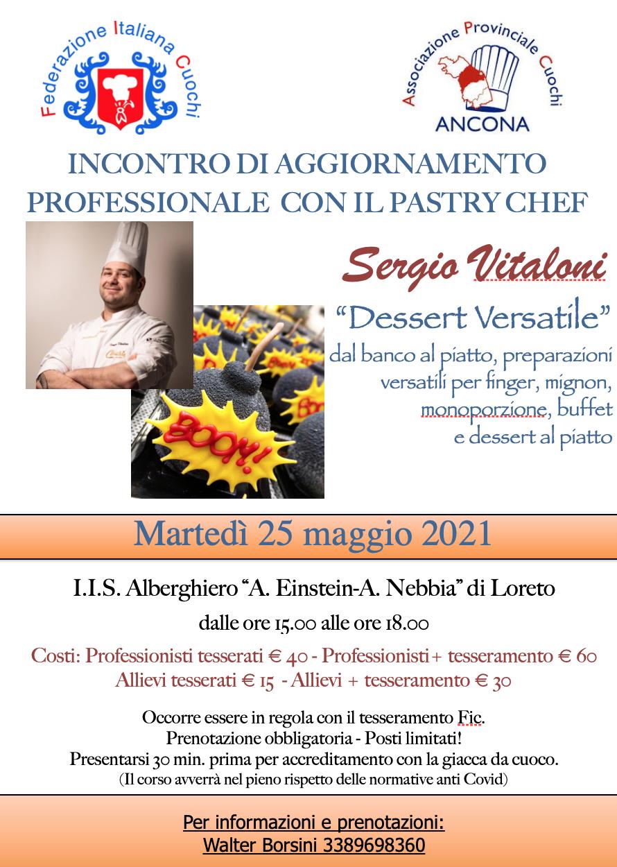 25 mag 2021 Sergio Vitaloni