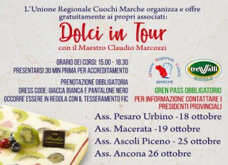 Dolci in tour 2021